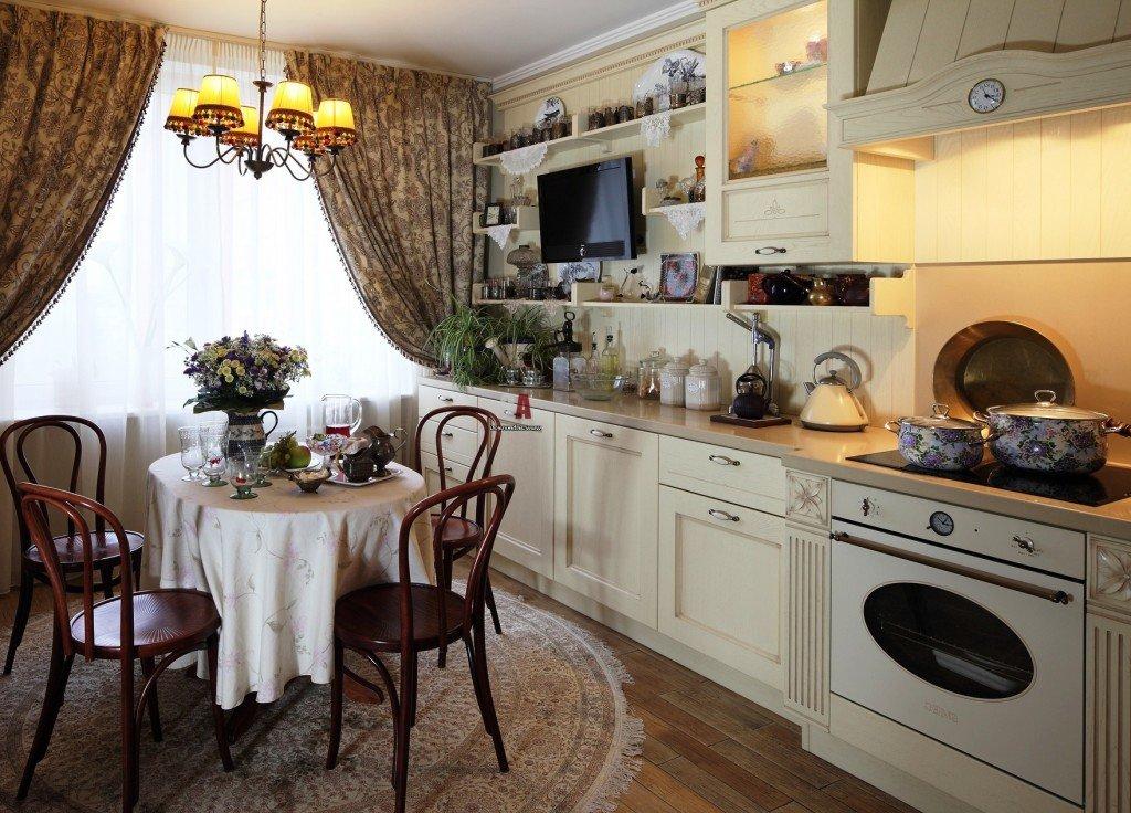 обновленный интерьер кухни