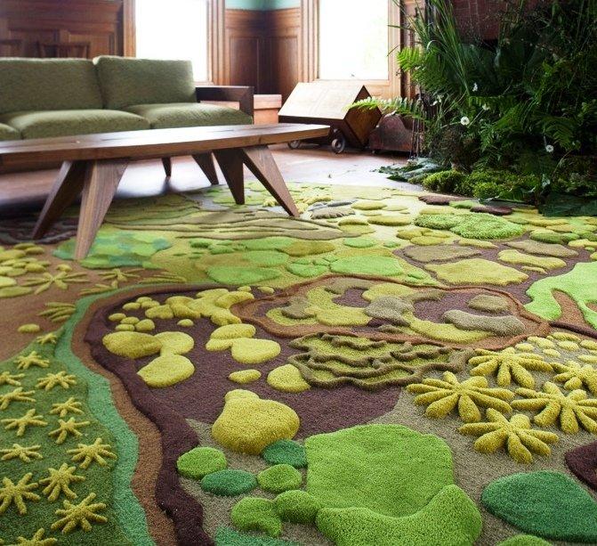 3D эффект в ковровом покрытии