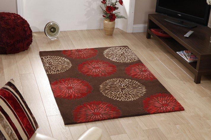 Модные ковры на пол фото