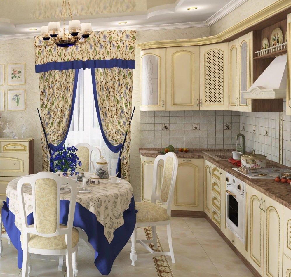 обновленная кухня в стиле прованс