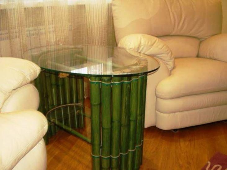 внешний вид изделий из бамбука