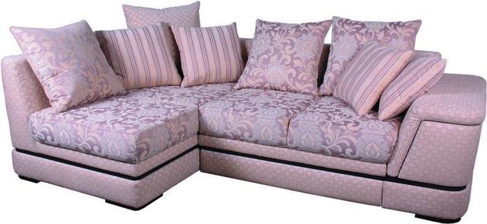 диван с обивкой натуральный тектиль