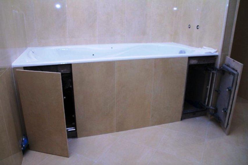 дверки для доступа под ванну