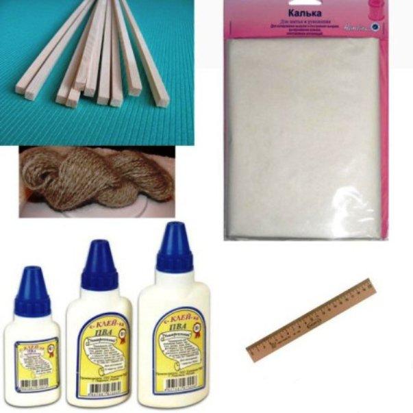 материалы для изготовления светильника