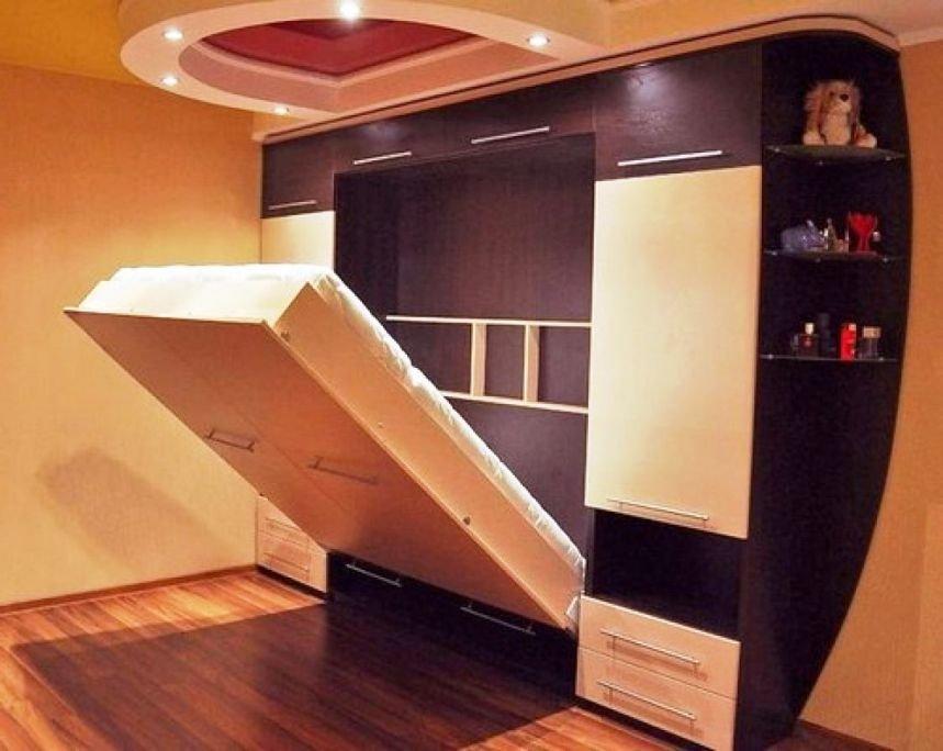 подъемная кровать с ремнями фиксаторами