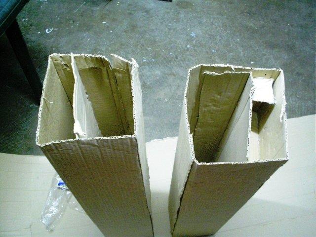 материал для изготовления - картон
