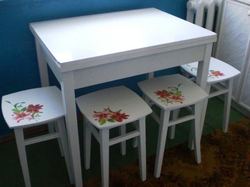 мебель декорированная в технике декупаж