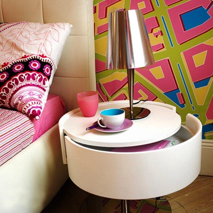 оформление спальни в стиле поп-арт