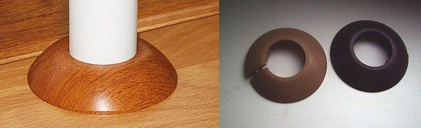 пластиковые кольца на трубы