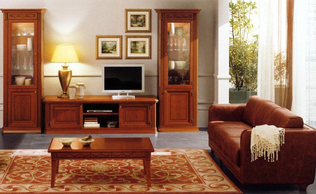 классика в дизайне мебели для гостиной комнаты