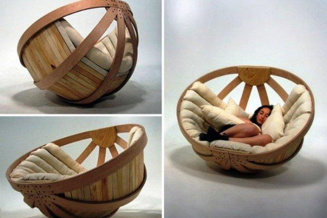 кресло-корзина