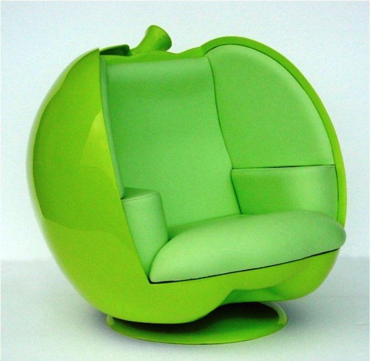 кресло-яблоко