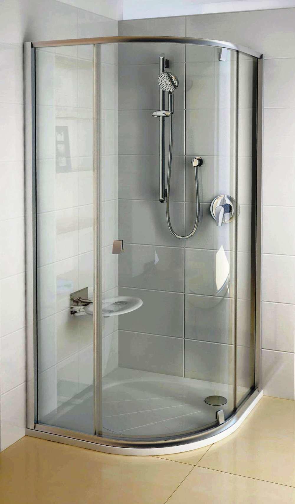 Дизайн ванной комнаты с душевым поддоном