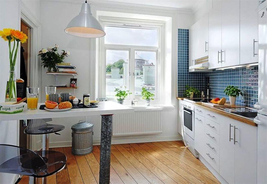 белые кухни - актуально вне времени