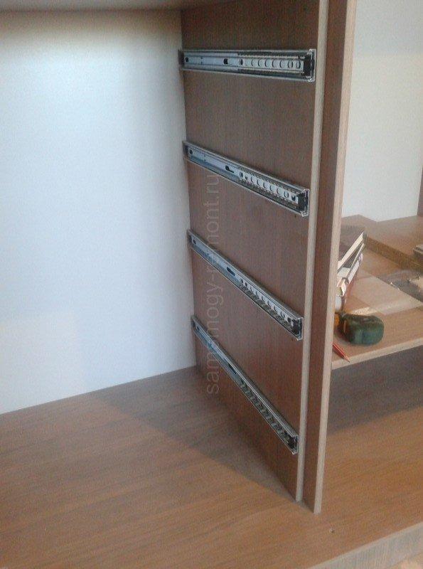 боковина секции с ящиками