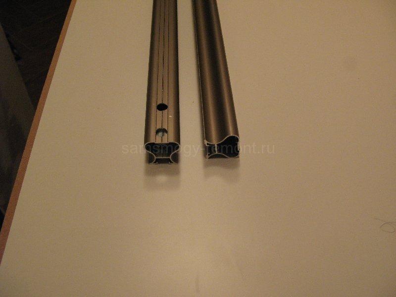нижняя часть профиля-ручки