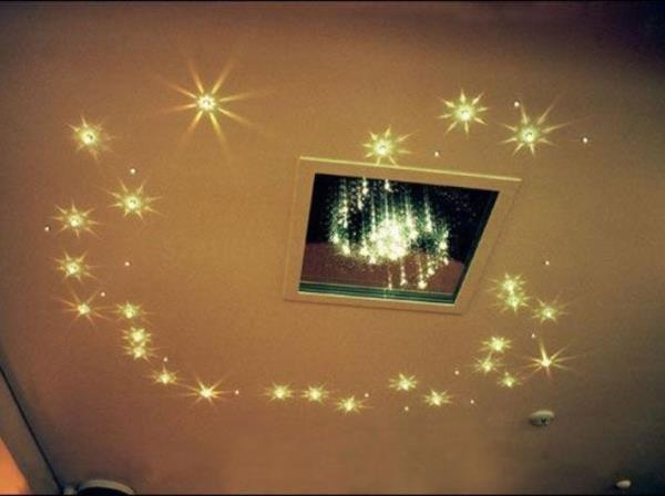 окно с подсветкой из светодиодов