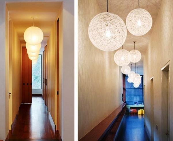 композиции из потолочных светильников