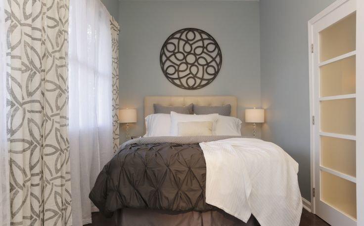 Идеальный интерьер маленькой спальни - фото