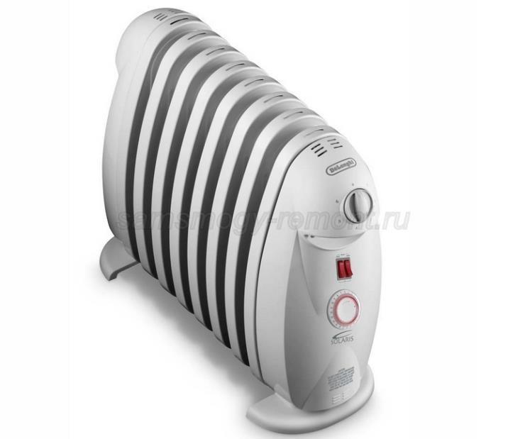 Масляный компактный радиатор