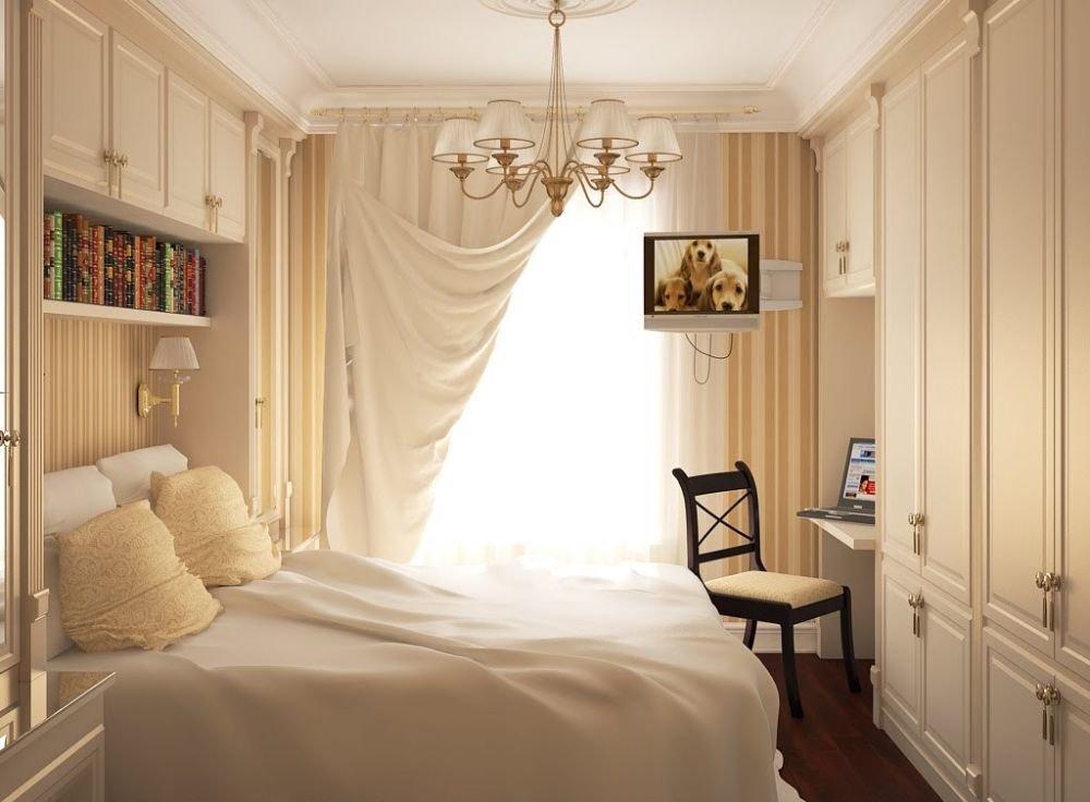 Классика маленькой спальни