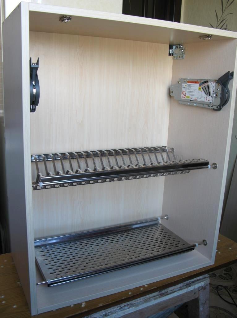 навесной шкафчик для посуды