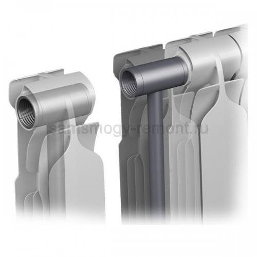 Схема устройства биметаллического радиатора Кондор