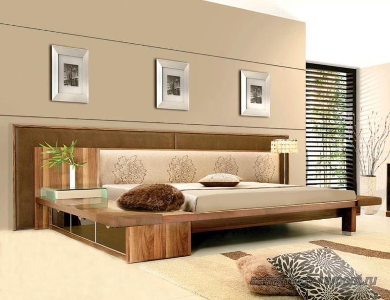 Палитра японской спальни