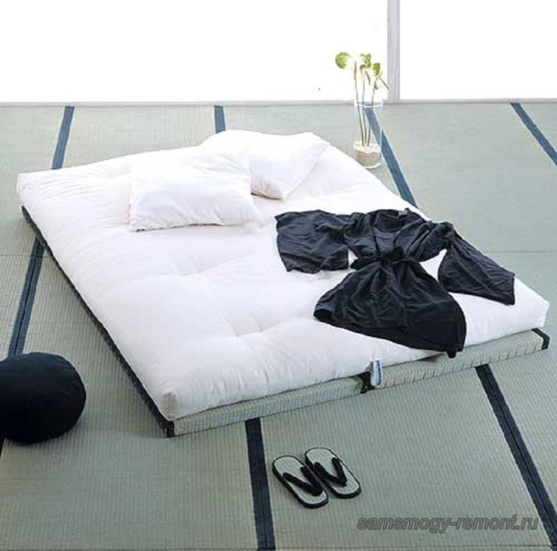 Футон - японский матрас-кровать