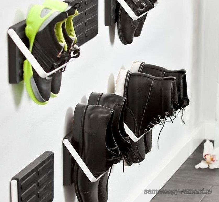 Настенная система хранения обуви
