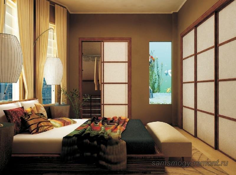 Проект оформления спальни