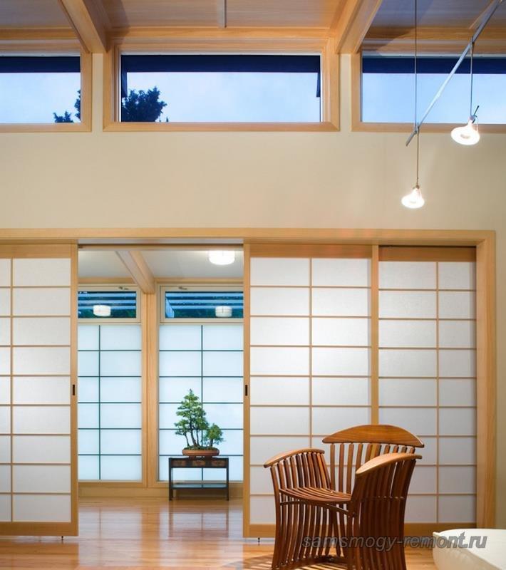 Структура постройки в японском стиле