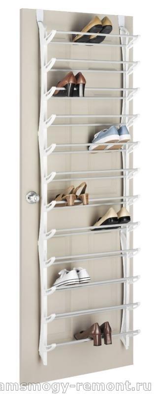 Галошница подвес для обуви на дверь
