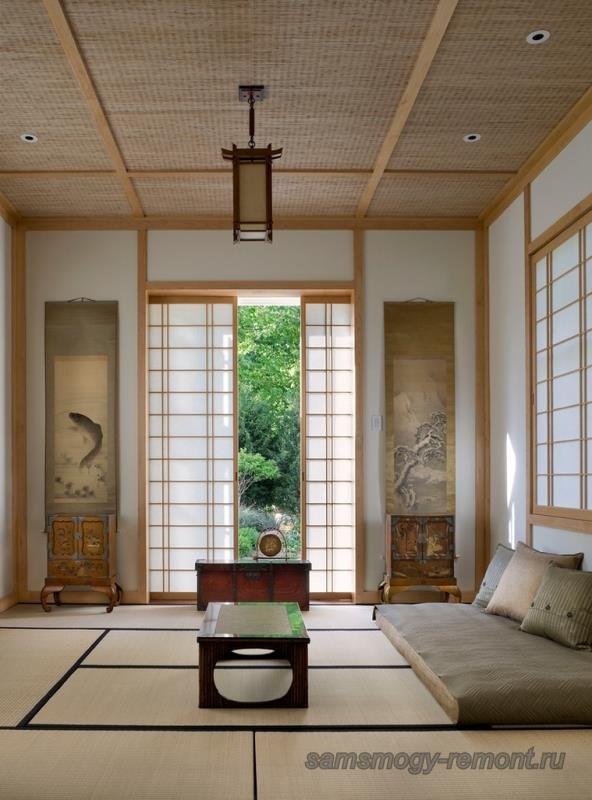 Жилое пространство японской квартиры