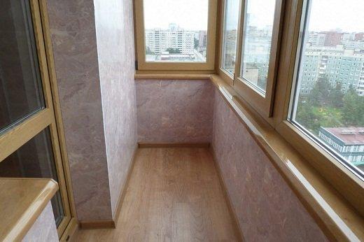 Общий вид балкона