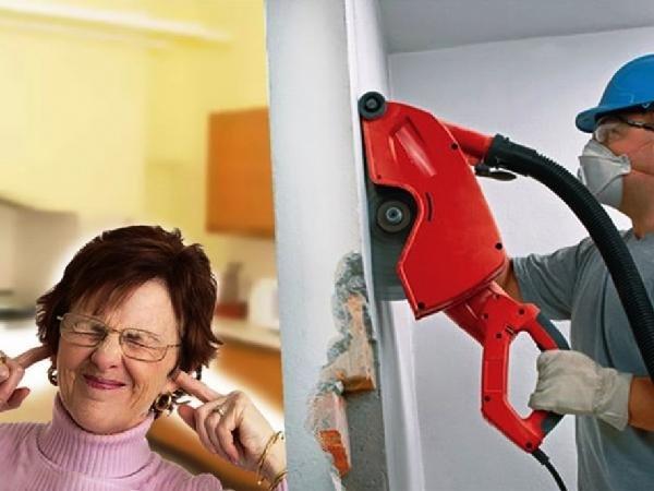 шумные работы в квартире