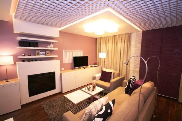 Потолок в интерьере квартиры