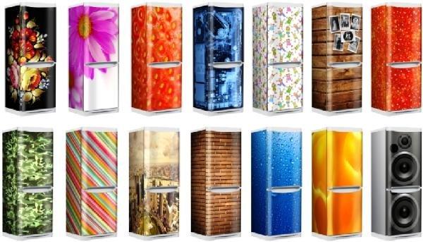 варианты раскраски холоджильника