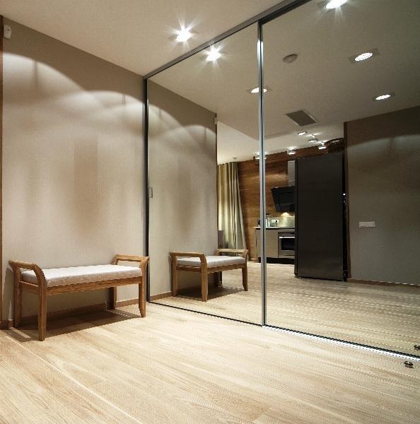 зеркальные поверхности в интерьеоре