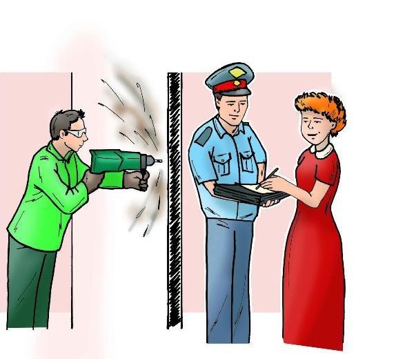 порядок действий при возникновении конфликта