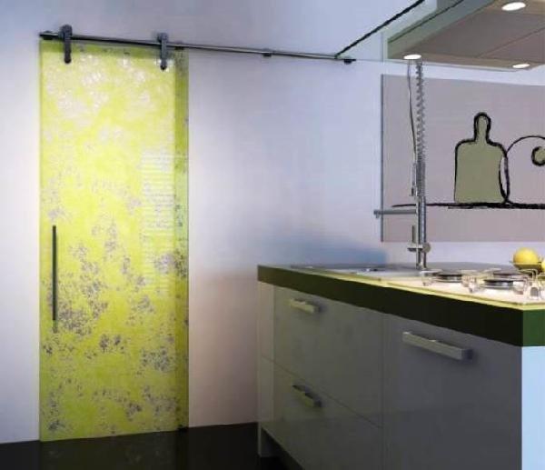 подвесная дверь