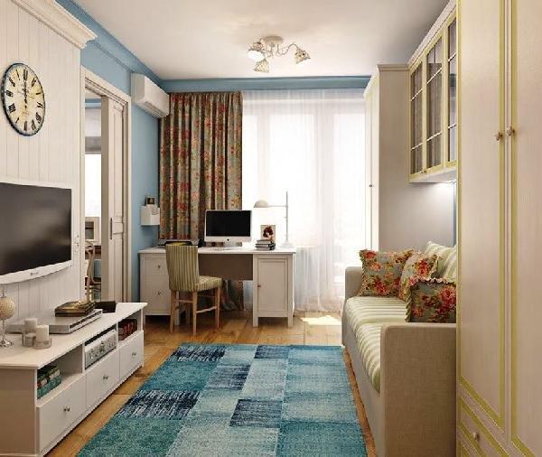 использование светлых тонов в покраске помещения